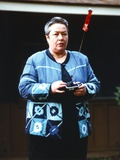 Kathy Bates Holding Remote Control Photo by  Movie Star News