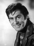 James Farentino Posed in Black Jacket Photo by  Movie Star News