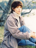 Kathleen Quinlan in Gray Leather Jacket Portrait Photo by  Movie Star News