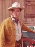 Jeffrey Hunter Posed in Cowboy Outfit Photo by  Movie Star News
