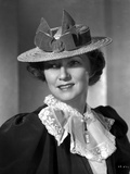 Irene Castle wearing a Ruffled Blouse with Ribbon on Hat Photo by  Movie Star News