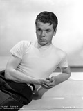 Jackie Cooper Posed in White Tshirt With White Background Photo by  Movie Star News