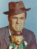 Jim Backus Showing His Frowned Face in Portrait Photo by  Movie Star News