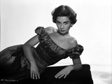 Jean Simmons Reclining in Classic Photo by  Movie Star News