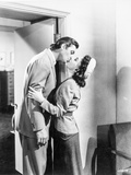 Johnny Weissmuller Kissing a Woman in a Classic Movie Scene Photo by  Movie Star News