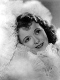 Janet Gaynor Surrounded with Fluffy Lace Portrait Photo by  Movie Star News