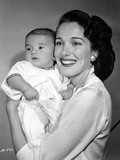 Julie Adams Portrait in Classic Photo by  Movie Star News
