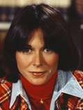 Kate Jackson Black Straight Hair, Red lipstick Portrait Photo by  Movie Star News