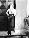 John Barrymore Leaning on Door Photo by  Movie Star News