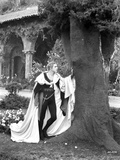 John Barrymore Leaning on Tree Photo by  Movie Star News