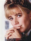 Imogen Stubbs sitting with Hands Crossed Photo by  Movie Star News