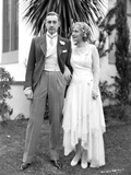John Barrymore Escorting a Woman Photo by  Movie Star News