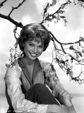 Juliet Prowse smiling Portrait in Classic Photo af Movie Star News