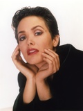 Janine Turner Portrait in Red Lip Photo by  Movie Star News