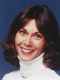 Kate Jackson smiling inTurtle Sweater Portrait Photo by  Movie Star News