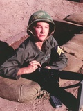 Kathleen Quinlan in Army Outfit Portrait Photo by  Movie Star News