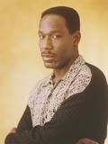 James McDaniel Posed in Black Longs sleeve Photo by  Movie Star News