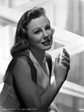 June Allyson Posed Side View Portrait Photo by  Movie Star News