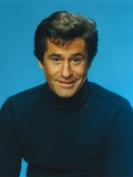 James Farentino in Black Sweater Portrait Photo by  Movie Star News