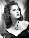 Martha Hyer on Off Shoulder Top Portrait Photo by  Movie Star News