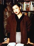 Joan Chen Posed in Brown Sweater Photo by  Movie Star News