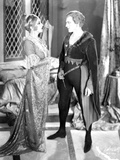 John Barrymore Conversing in Tights and Cape Photo by  Movie Star News