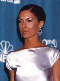 Lara Boyle Posed in Silk Dress Photo by  Movie Star News
