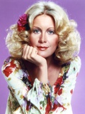 Joan Van Ark Portrait in Floral Dress Photo by  Movie Star News