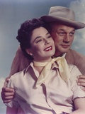 Joseph Cotten Couple Picture in Classic Photo by  Movie Star News