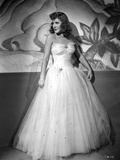 Jean Arthur on a Tube Gown Hands on Site Portrait Photo by  Movie Star News