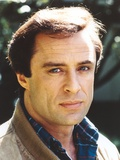 Joe Penny wearing a Brown Jacket in a Close Up Portrait Photo by  Movie Star News