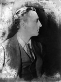 John Barrymore Looking Away at Camera, wearing a Suit in a Classic Portrait Photo by  Movie Star News