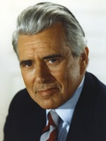 John Forsythe White Background Close Up Portrait Photo by  Movie Star News
