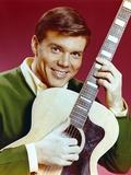John Davidson with Guitar Close Up Portrait Foto af  Movie Star News