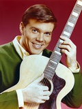 John Davidson with Guitar Close Up Portrait Photo by  Movie Star News