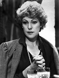 Lynn Redgrave Looking Away in Black Dress with Coat Photo by  Movie Star News