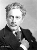 John Barrymore wearing a Black Suit Photo by  Movie Star News