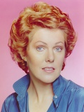 Lynn Redgrave in Blue Polo Close Up Portrait Photo by  Movie Star News