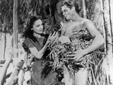 Johnny Weissmuller Holding a Birds Nests in a Classic Movie Scene Photo by  Movie Star News