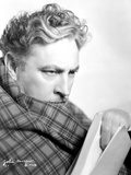 John Barrymore Checkered Scarf Photo by  Movie Star News