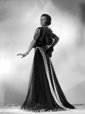 Irene Castle Lady in Gown with Printed Lining Photo by  Movie Star News