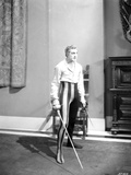 John Barrymore Carrying Sword Photo by  Movie Star News