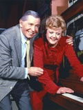 Milton Berle Couple Portrait smiling Photo by  Movie Star News