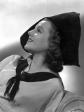 Janet Gaynor Side view and Leaning Pose Photo by  Movie Star News
