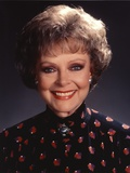 June Lockhart Close Up Portrait Photo by  Movie Star News