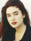 Jennifer Connelly Close Up Portrait in Black Shirt in White Background Photo by  Movie Star News