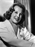June Allyson smiling Portrait in Classic Photo by  Movie Star News
