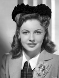 Joan Leslie on Blazer and posed Photo by  Movie Star News