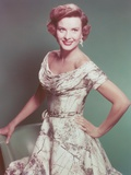 Jean Peters in White Gown Portrait Photo af Movie Star News