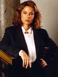 Jennifer Grey Portrait n Black Coat Photo af Movie Star News